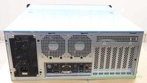 Tampak belakang dengan motherboard Asus H87 Pro