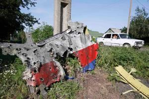 Kepingan kokpit MH17