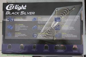 Power Supply Enlight Black SIlver 600W