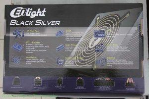 Power Supply Enlight Black SIlver 600W