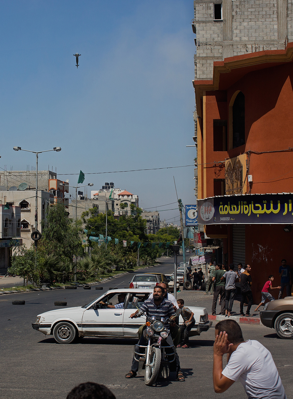 Precision munitions are used to level buildings in Gaza.