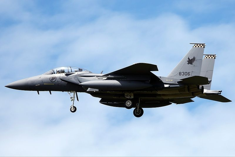 F-15SG di Darwin Airport