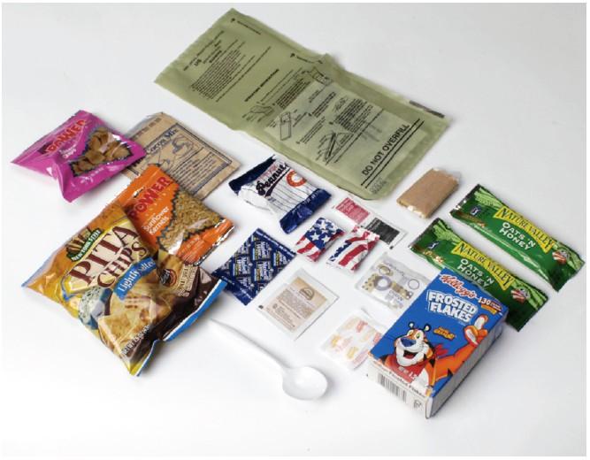 Paket Makanan Halal dari Amerika Untuk Irak