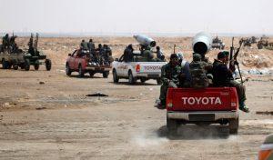 Toyota Hilux di Libya
