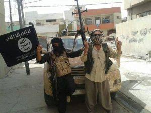 Toyota Hilux di Mosul