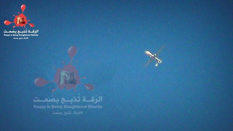 Drone Amerika di Syria
