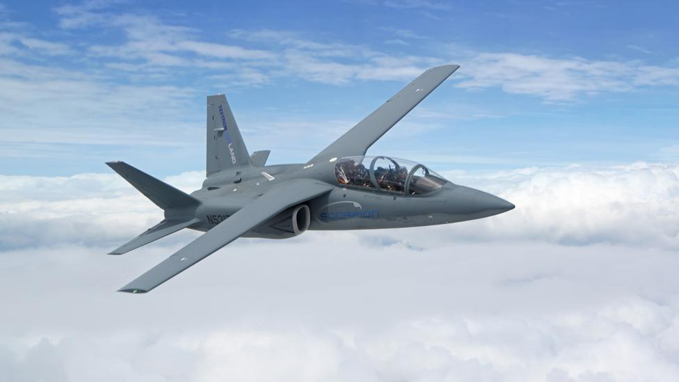 Pesawat Tempur Murah Textron Scorpion