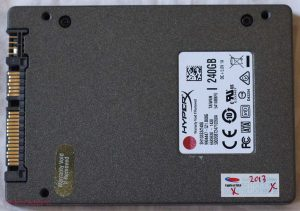 SSD Kingston HyperX 240 G