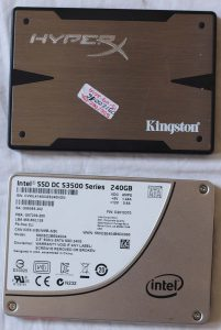 SSD Kingston HyperX dan Intel DC 3500