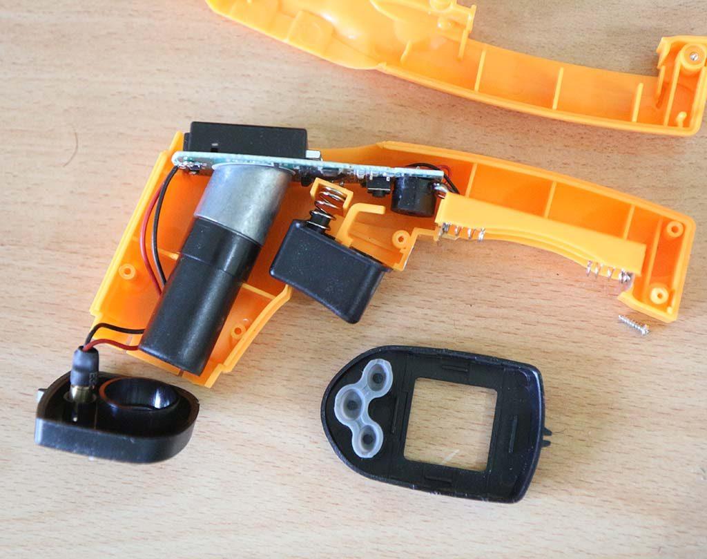 Komponen bagian dalam GM320