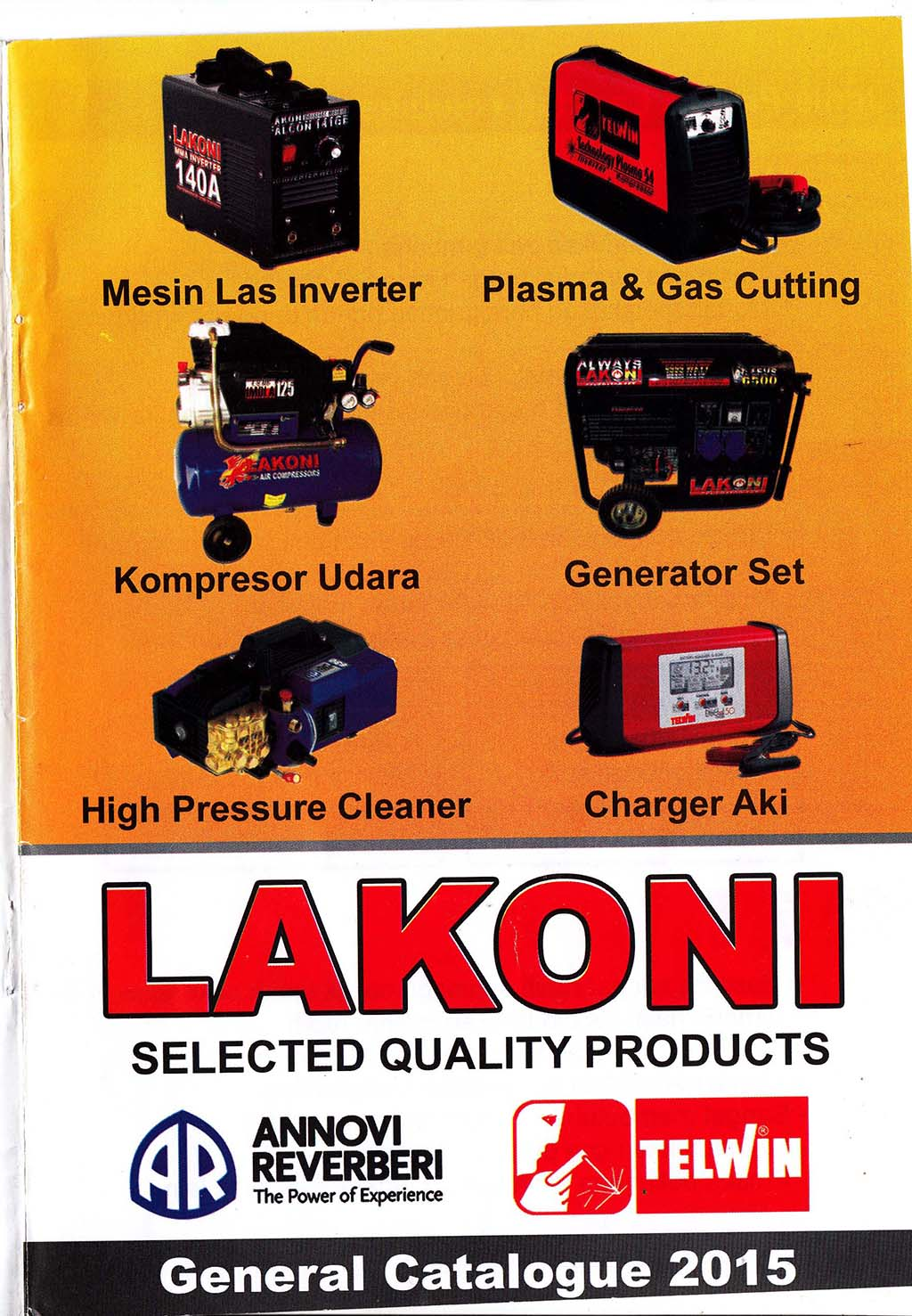 Lakoni General Catalogue 2015