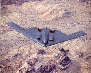 B-2 first flight