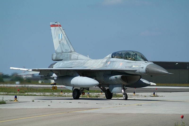 F-16D serial number 084, the aircraft that crashed