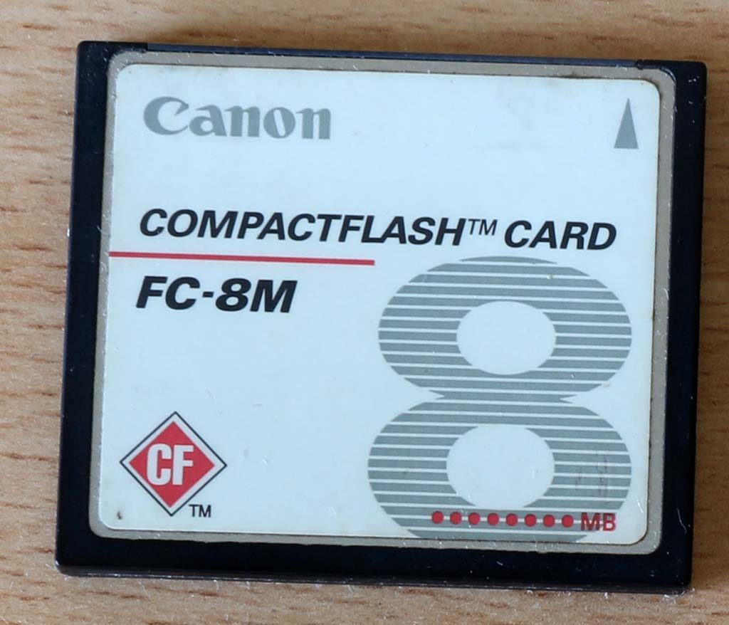 Compact Flash 8 MB