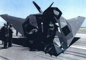 Kecelakaan pendaratan F-117