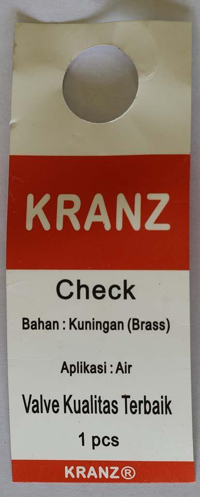 Label Klep Kranz