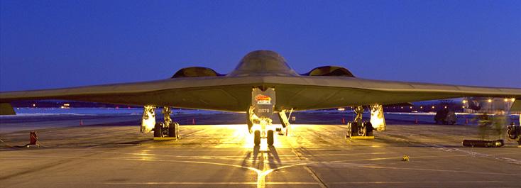 Pembom Siluman B-2 Spirit dari Amerika Serikat