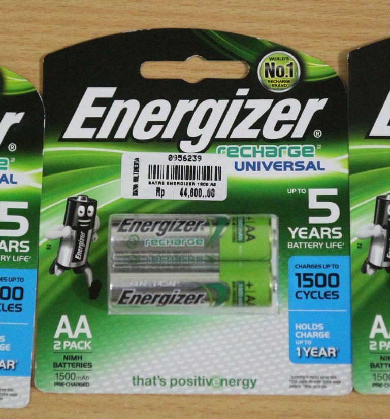 Batere NiMH Energizer 1500 mAh