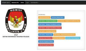 SITaP: Sistem Informasi Tahapan Pilkada