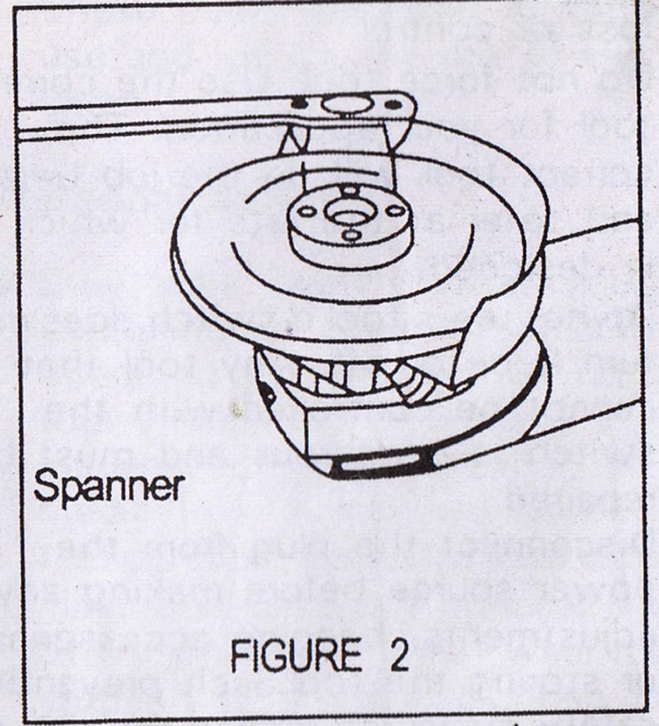 Angle grinder Figure 2