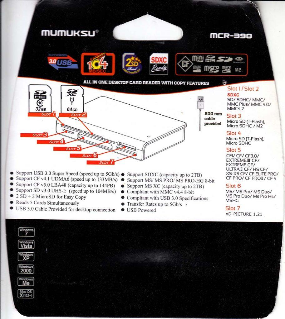 Manual Mumuksu MCR-390