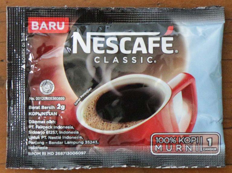 Nescafe Classic 2015