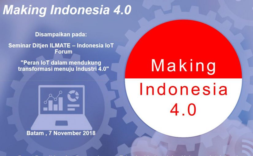 Making Indonesia 4.0
