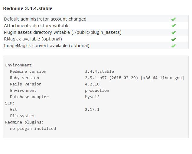 Instalasi Redmine 3.4.4-stable di Ubuntu 18.04.03