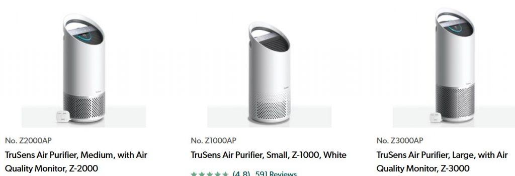Pembersih udara buatan Trusens