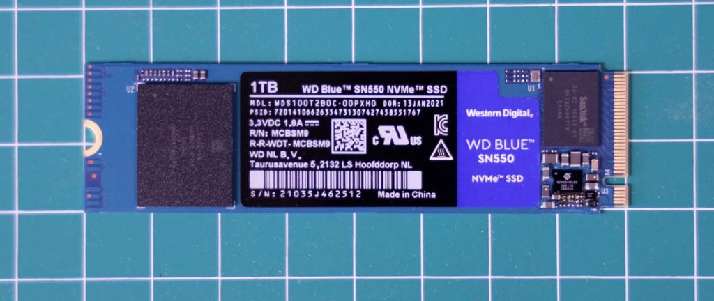SSD WD Blue SN550 NVMe